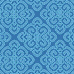 Blue Pattern